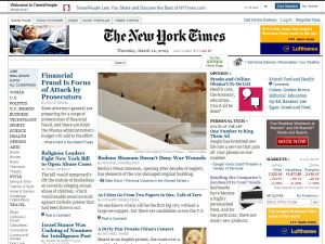 New York Times & the Phantom Lapboard.